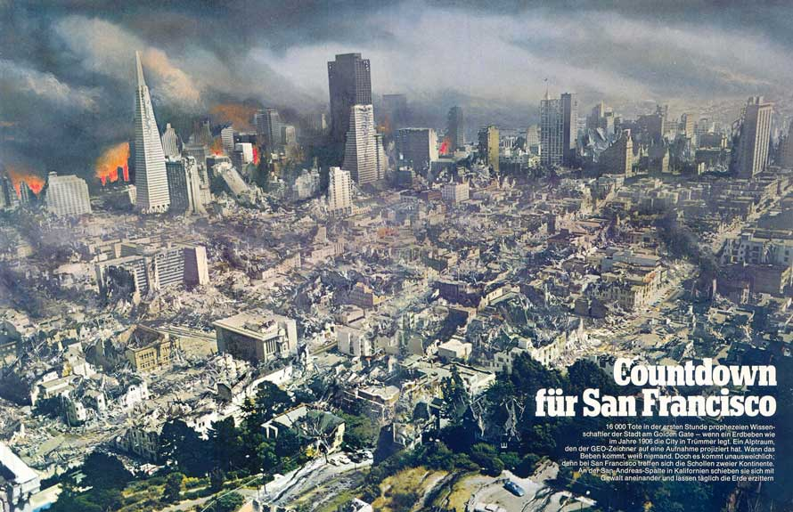 The next San Francisco earthquake (circa 2020?)